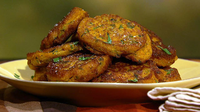 PHOTO:  Mario Batali's pumpkin fritters are shown here.