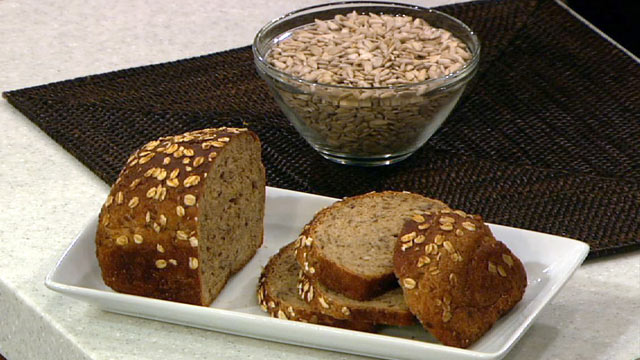 PHOTO: The Chew''s seven grain bread recipe is shown here.