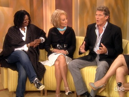 VIDEO: David Hasselhoff says that President Obama is boring.