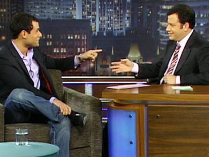 VIDEO: Jimmy Kimmel interviews The Bachelors .