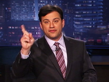 VIDEO: Jimmy Kimmel accuses Facebook of trying to stop his National Unfriend Day.