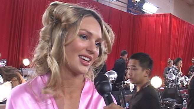 VIDEO: Backstage dish from the Victoria's Secret 2010 Fashion Show.