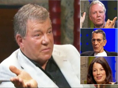 Video: William Shatner becomes a talk show host.