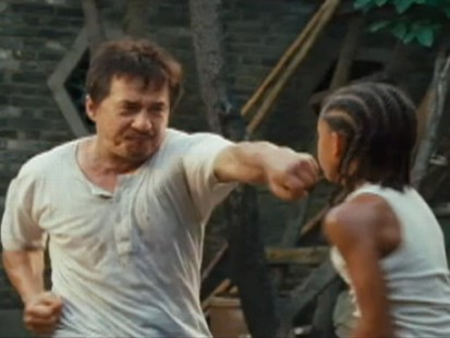 VIDEO: Movie trailer for The Karate Kid.