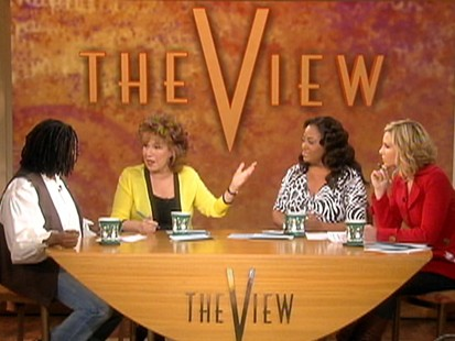 VIDEO: The View discusses Christian Bales cursing.