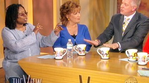 VIDEO: Whoopi Goldberg argues with Glenn Beckk on The View.
