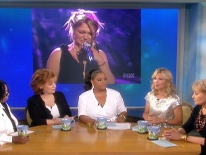 VIDEO: The View applauds Crystal Bowersoxs performance on American Idol.