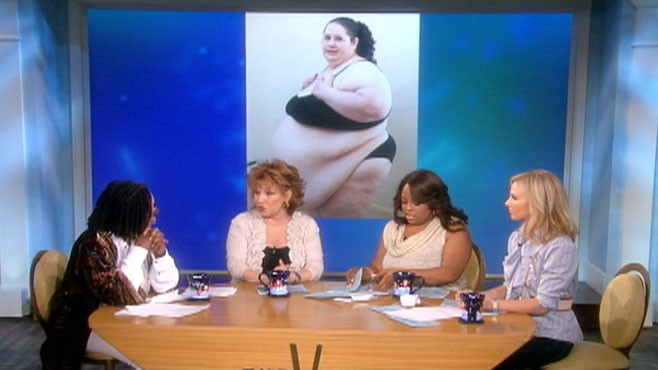 VIDEO: The View criticizes a N.J. mom who's trying to become the world's fattest woman.