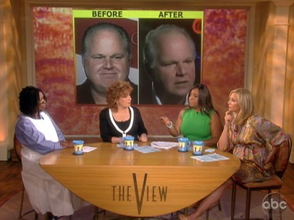 VIDEO: The View talks about Rush Limbaughs weight loss.