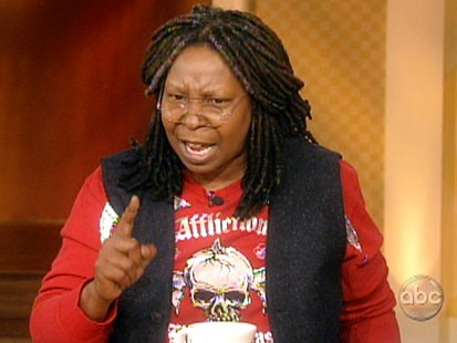 Picture of Whoopi Goldberg on The View.