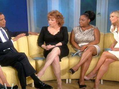 VIDEO: President Obama defends job growth under his administration while on The View.