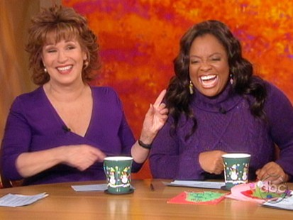 VIDEO: Joy Behar and Sherri Shepherd on The View.