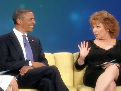 VIDEO: President Obama gets a pop culture quiz during his appearance on The View.