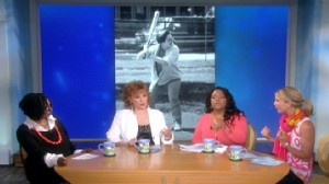 VIDEO: The View discusses lesbian rumors about Elena Kagan.