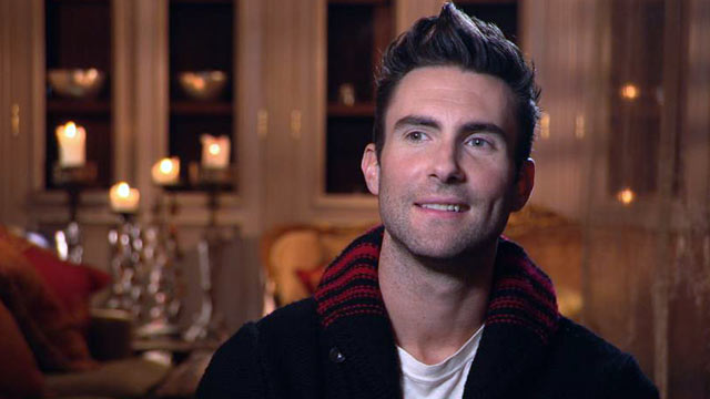 "PHOTO: Maroon 5s frontman Adam Levine sat down with ""Nightline"" to discuss th"