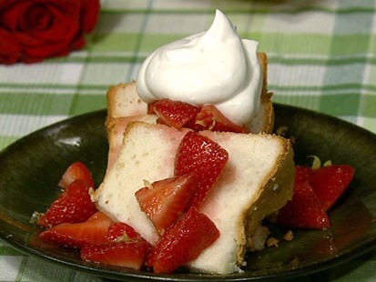 PHOTO: Michael Symons angel food cake is shown here.