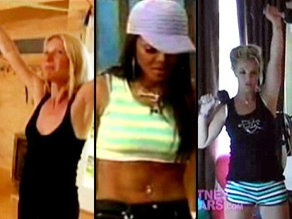 Gwyneth Paltrow, Janet Jackson, Britney Spears