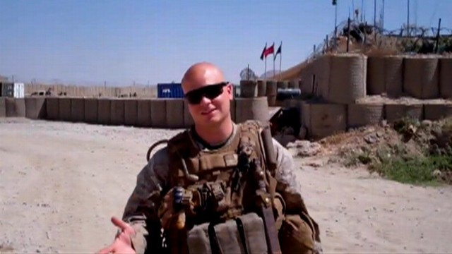 VIDEO: Sgt. Scott Moore from 3rd battalion in Afghanistan posted his invitation online.