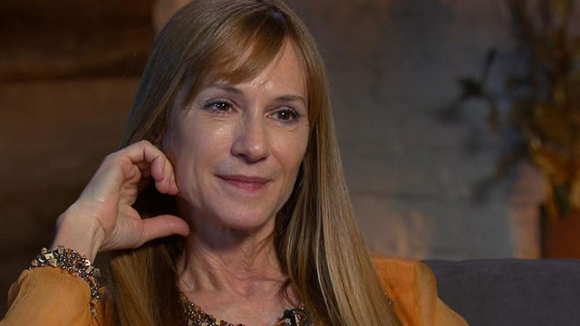holly hunter and family