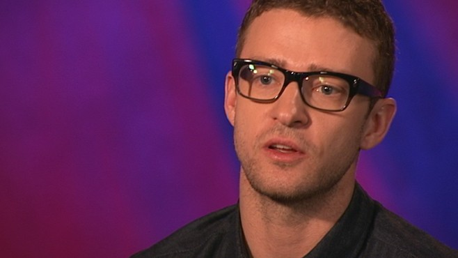 VIDEO: Justin Timberlake compares acting and singing.