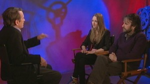 "VIDEO: Director and star of ""The Lovely Bones"" movie adaptation tell the story."