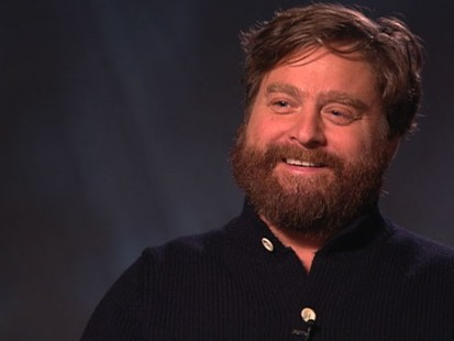 VIDEO: Zach Galifianakis plays it crazy in new movie.