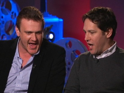 VIDEO: Paul Rudd and Jason Segel sing