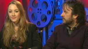 VIDEO: Star and director of The Lovely Bones choose Twilight sides