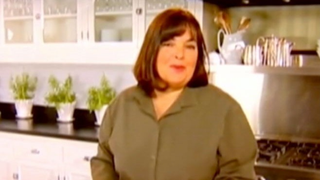 VIDEO: The TV chef at first denied a boys wish to cook with her but then made time.