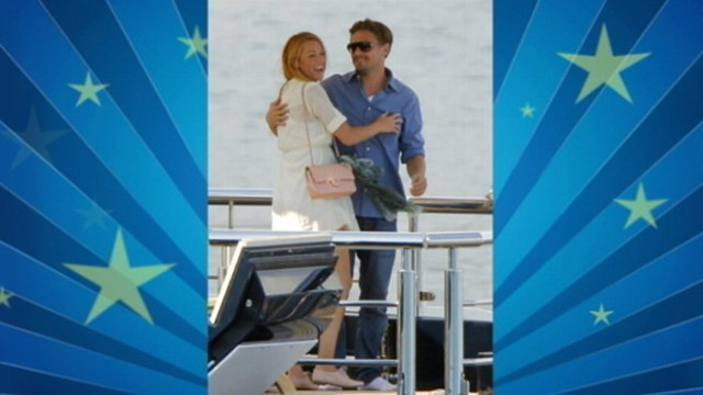 VIDEO: Pictures of the two actors on a yacht in Cannes spark relationship rumors.
