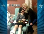 VIDEO: 'Housewives' Star Visits Fellow Amputees Affected by Boston Tragedy