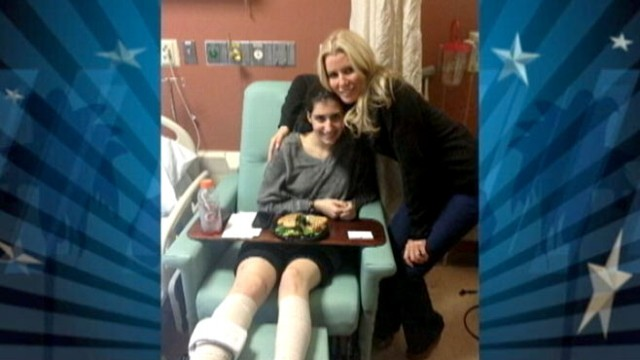 Video: Housewives Star Visits Fellow Amputees Affected by Boston Tragedy
