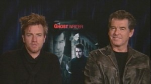 VIDEO: Tiger Woods news and an interview with Ewan McGregor and Pierce Brosnan.