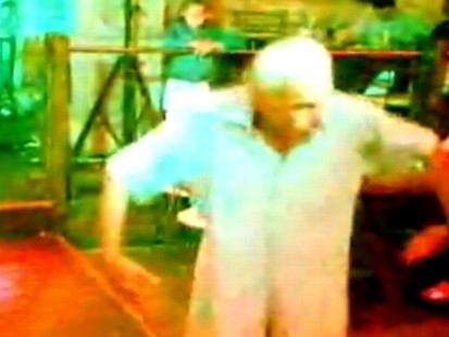 VIDEO: Grandpa Gaga has dancing moves that are burning up the Internet.