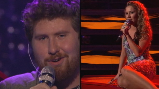 VIDEO: Contestants Casey Abrams and Hailey Reinhart are rumored to be dating.