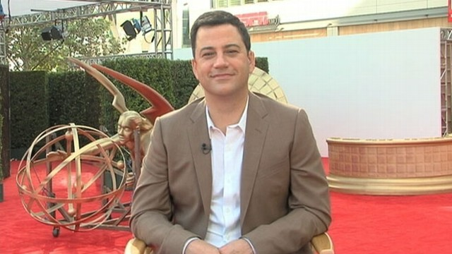 VIDEO: Kimmel talks preps, preferred winners and politics.
