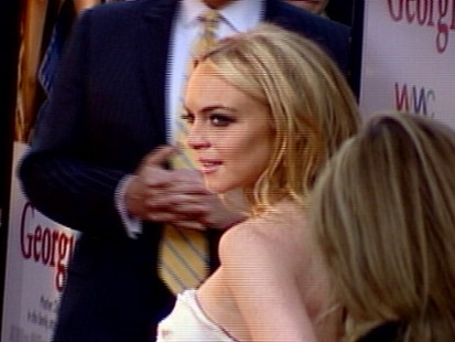 "VIDEO: Lindsay Lohan opens up to ""The Insider"" about her hoarding behavior."