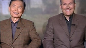 "VIDEO: Actor George Takei and his partner Brad Altman talk about ""The Newlywed Game."""