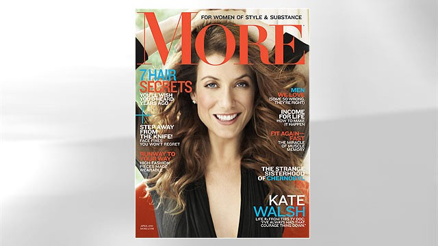 VIDEO: Actress tells More magazine she