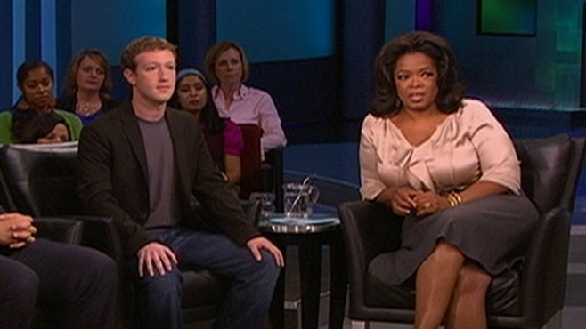VIDEO: Facebook CEO Mark Zuckerberg says a lot of The Social Networl is fiction.