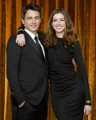 Franco and Hathaway Host the Oscars: Franco through the years