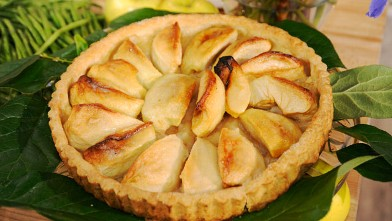 PHOTO:Jacques Pepin's Memes Apple Tart