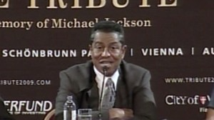VIDEO: Jermaine Jackson announces tribute concert for Michael Jackson.