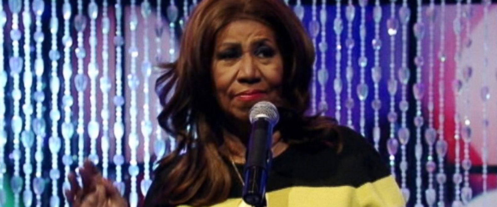 PHOTO: Aretha Franklin appeared on Live! With Kelly and Michael.