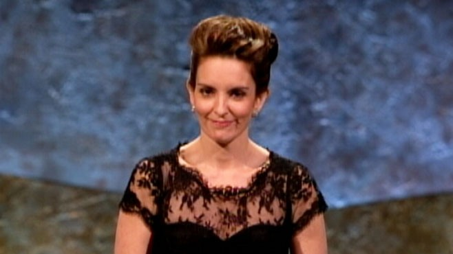 VIDEO: Tina Fey receives Mark Twain Prize for American Humor at Washington event.