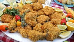 PHOTO: Buttermilk &quot;not-fried&quot; chicken is shown here.