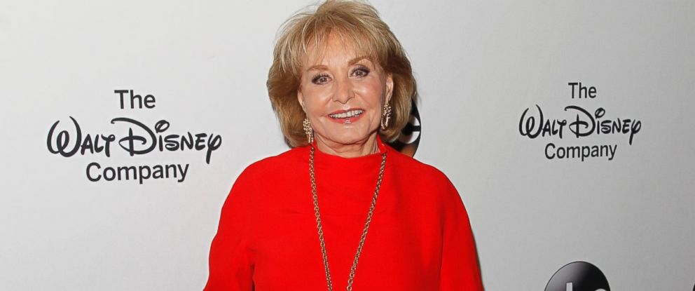Barbara Walters arrives at the Barbara Walters Celebration,honoring the broadcasting legend as she says goodbye to daily television,May 14, 2014, at the Four Seasons in New York City.
