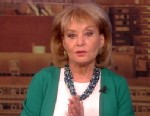 "PHOTO: Barbara Walters returns to ""The View"" on March 4, 2013, after recovering from chicken pox."