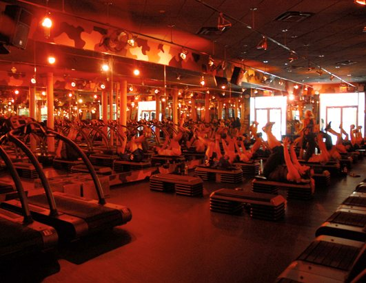 Kim Kardashian's favorite gym is Barry's Bootcamp, now in New York City.