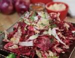 PHOTO: Mario Batalis beet and fennel insalata cruda is shown here.